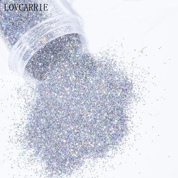 1 Box Holographic Nail Art Glitter for Nails Sequins Gold Silver Mirror Bling Chunky Powder Manicure Decorations