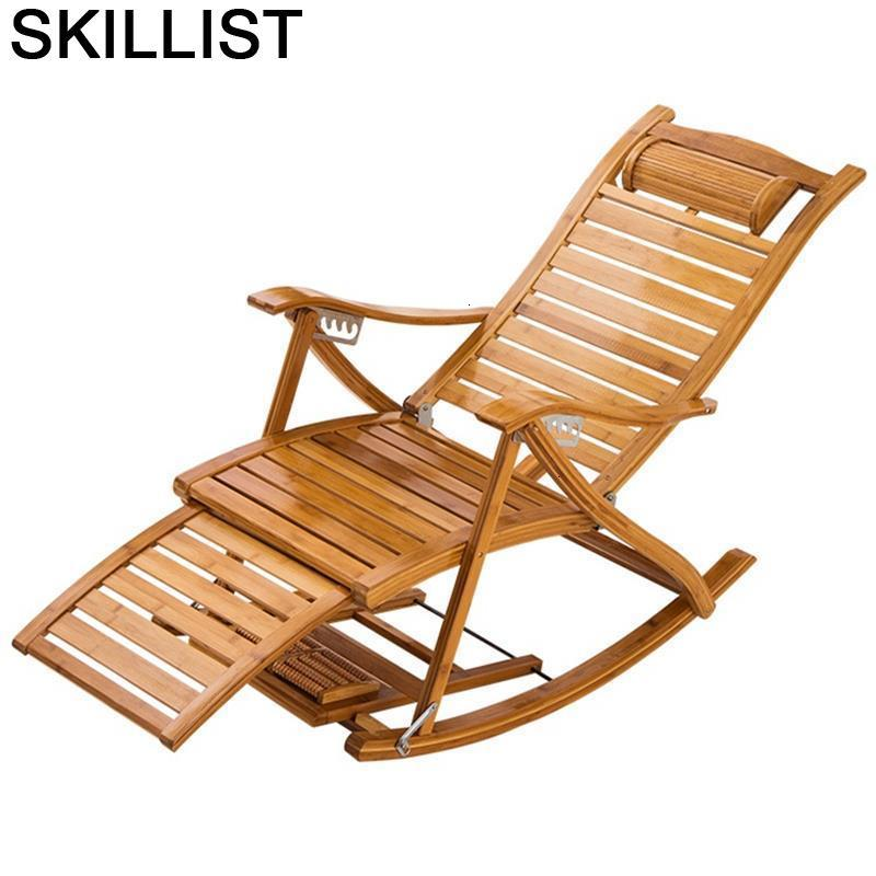 Da Salotto Divano Kanapa Relax Foldable Bed Rocking Bamboo Fauteuil Salon Cama Plegable Sillon Reclinable Recliner Chair