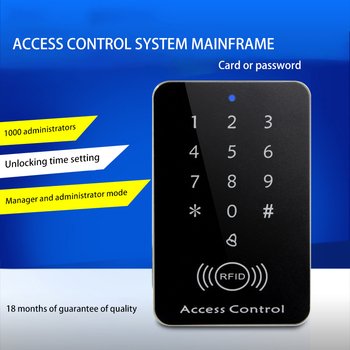 Door Access Lock Swipe Access Control PVC Material Password Access Control Machine Electronic Access Control System фото
