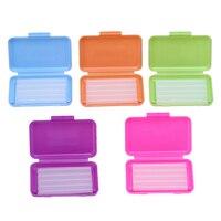100 cajas de cera ortodóntica tirantes para irritación en la encía Dental Cuidado Oral de cera ortodóntica de sabores disponibles