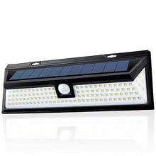 Foco Solar Led Exterior Con Sensor 118led Solar Lamp Street Outdoor Waterproof Garden Light IP65