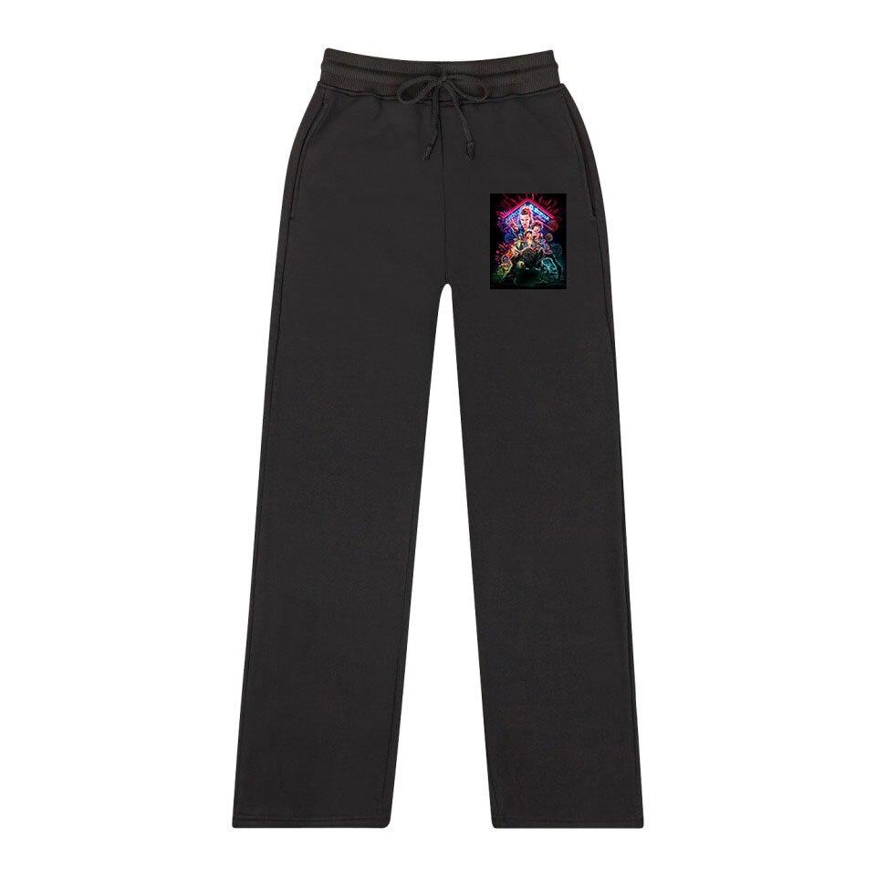 Frdun Tommy Stranger Things Women Sweatpants Cooton High Quality Jogging Sports Pants Trousers  Fashion Tight K Pop Casual Pants