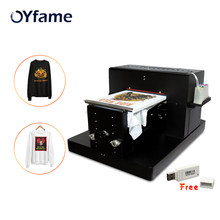 Multicolor A3 Flatbed Printer DTG Printer tshirt Printer Printing Dark Light Color Flatbed Printer for TShirt Clothes Phone Case(China)