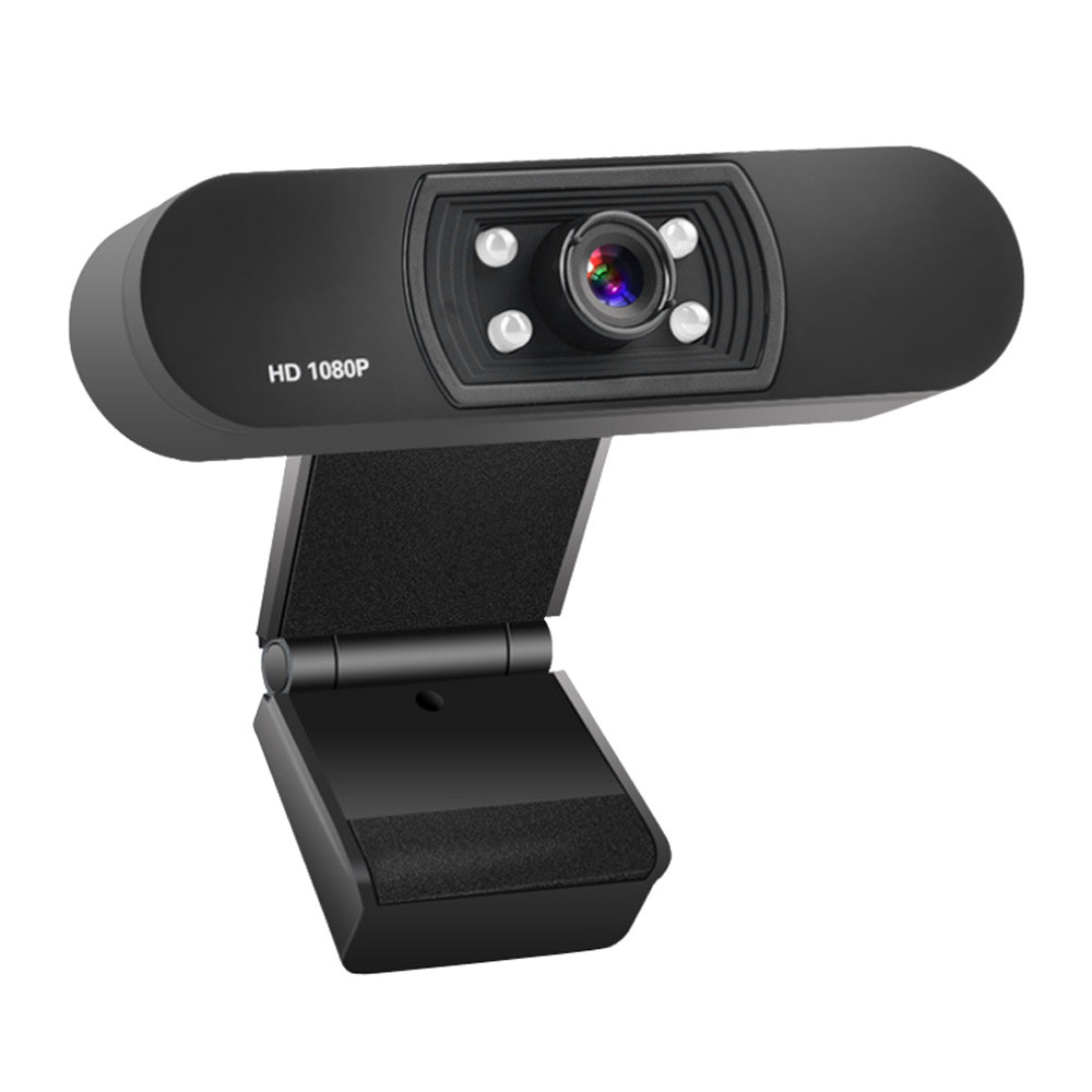 1080P USB Webcam in Clip-on Design with Built-in Noise Isolating Microphone 10