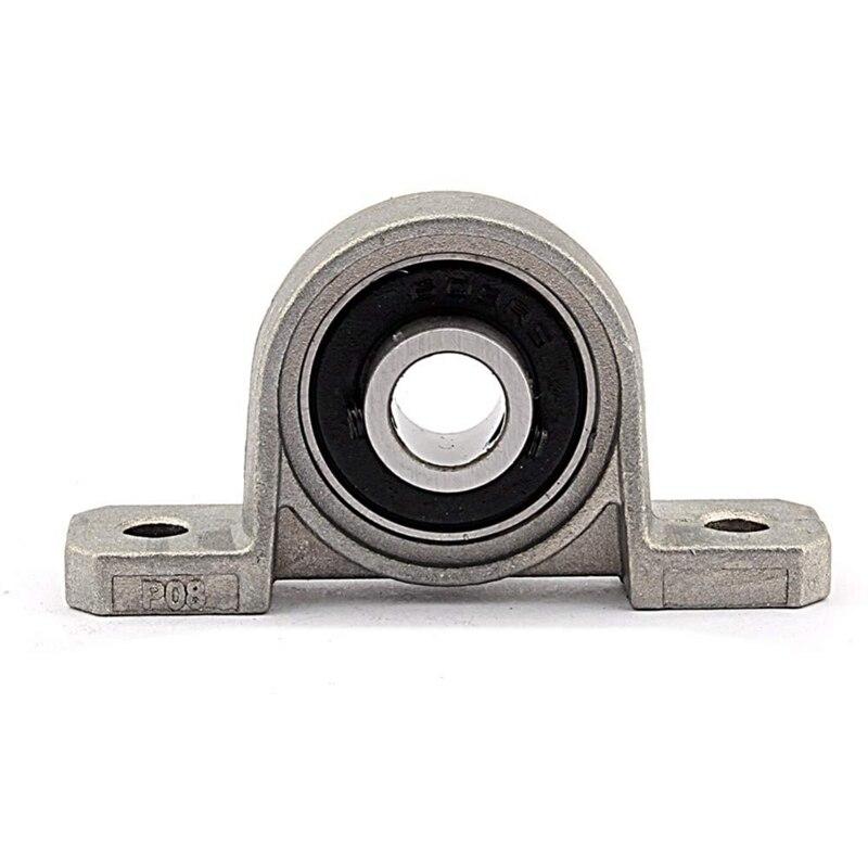 10 Pcs/Lot Kp08 8Mm Kp08 Bearing Insert Bearing Shaft Support Spherical Roller Zinc Alloy Mounted Bearings Pillow Block Housing