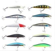 Bammax 1pcs Minnow Fishing Lures 7cm/6g Fly Hard Bait Crankbaits Isca Artificiais Pesca Sea Wobbler Swimming Baits