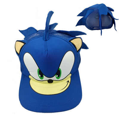 Anime Hat Game Sonic The Hedgehog Cosplay Blue Erinaceinae Hat Hedgehog Hat Adult Unisex Sonic Team Accessories Sonic Hat Aliexpress