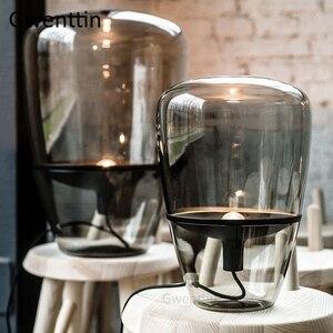 Image 2 - Nowoczesne lampy stołowe Brokis Balloons Nordic Led Stand szklana lampa na biurko do wystroju domu salon lampka nocna do sypialni
