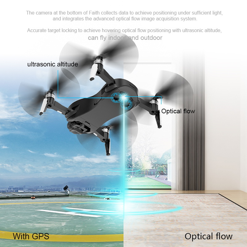 CFLY Faith GPS RC Foldable Drone Quadcopter Helicopter Brushless Motor With 5G Wifi Fpv 4K camera /1080P HD Camera