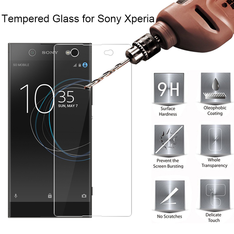 9H HD Tempered Glass For Sony Xperia X Performance Toughed Glass For Sony XA Ultra XA3 Screen Glass On Xperia XA1 Plus XA2 Ultra