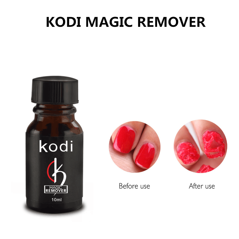 Kodi Burst Magic Remove UV Gel Nail Polish Magic Remover Soak off Nail Art Primer Acrylic Clean Degreaser For Nail Lacquer