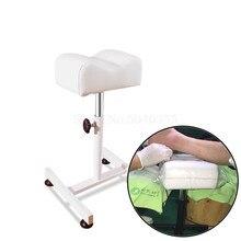 Профессиональный маникюрный педикюр herramienta педикюрный Маникюр silla rotatoria elevacion pie bano soporte con clavo especial