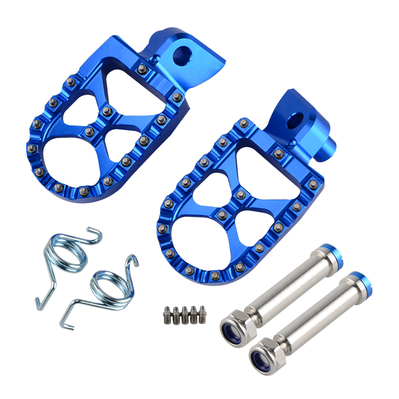 Foot Pegs Rest Pedal Footrests For Yamaha YZ125 YZ250 YZ250F YZ450F WR250F WR450F YZ125X YZ250X YZ250FX YZ450FX YZ85 YZ 125 250