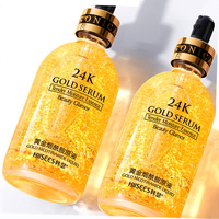 30ml podkład do makijażu 24K złoty płyn esencja kontrola oleju przeciw zmarszczkom oczy pielęgnacja twarzy kosmetyki pielęgnacja skóry nawilżająca baza do makijażu