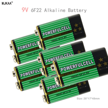 6pcs 6F22 1604D 9V battery 100 original high quali