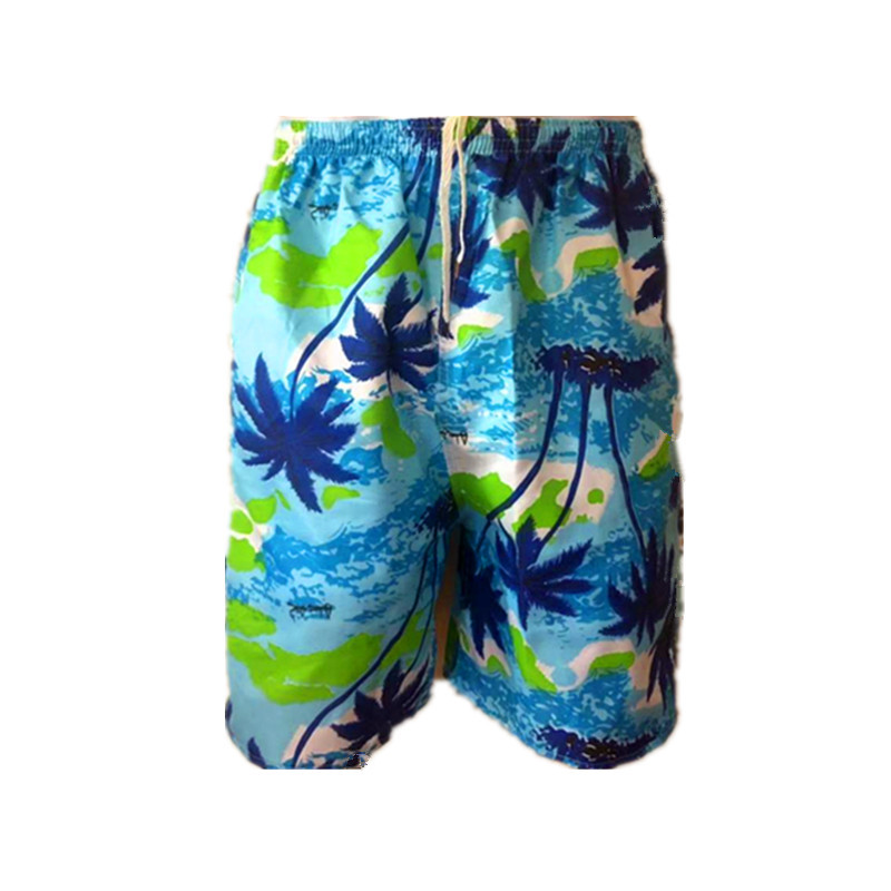 MEN'S Beach Pants Wholesale Soft Breathable Casual Loose-Fit Quick-Dry Casual Short Sports Drifting Booth Goods