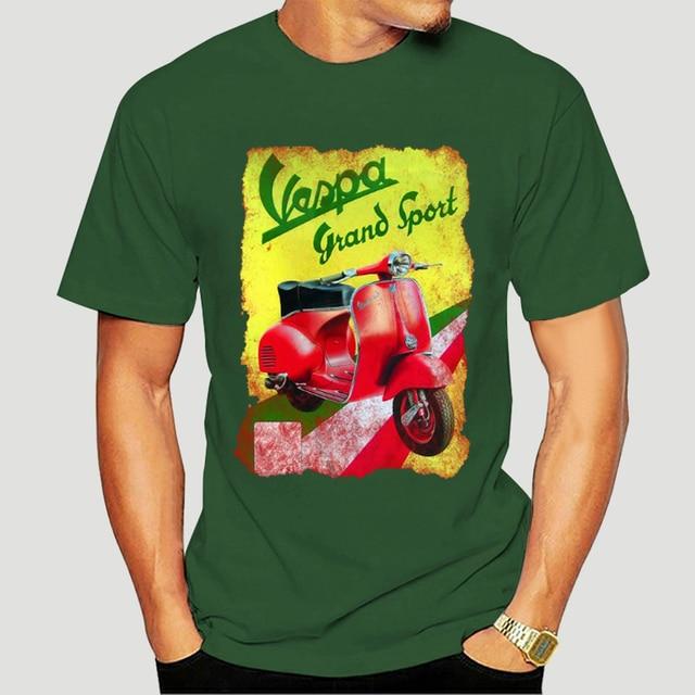 T-Shirt cyclomoteur mobylette vespa grand sport 1