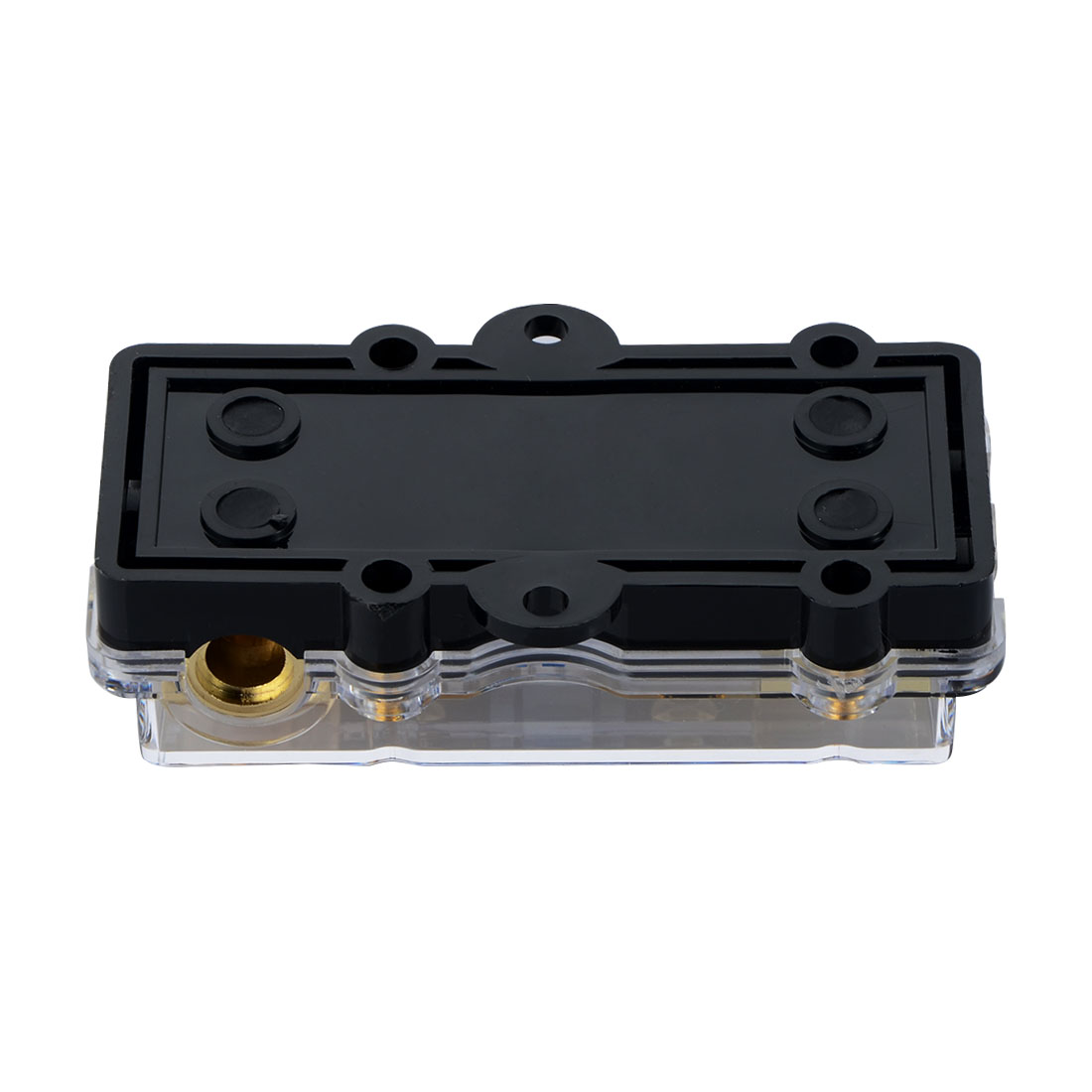 Купить с кэшбэком 1PCS Universal Car Auto Vehicles Audio Amplifier 1 In 2 Ways Out 60A Fuse Holder Fuse Box