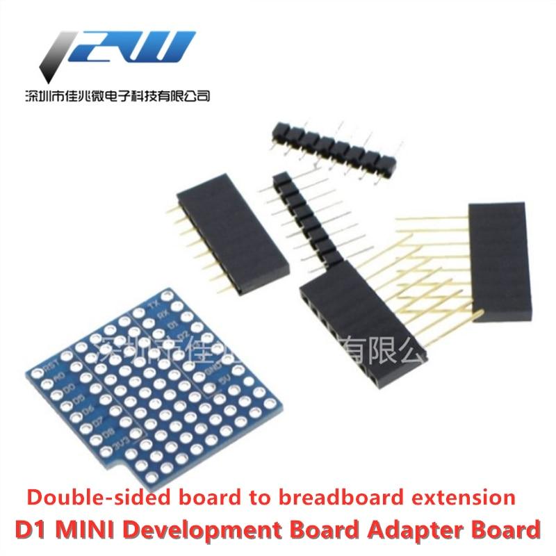 D1 mini Двусторонняя макетная плата WIFI IoT макетная плата расширенная версия для D1MINI