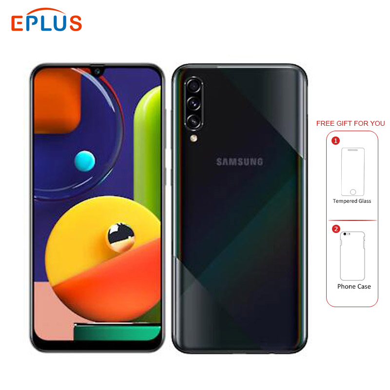 "Brand New Samsung Galaxy A50s 6GB 128GB Mobile Phone A5070 Dual SIM 6.4"" 4000mAh Triple Rear Camera 48MP 4G Phone|Cellphones|   - AliExpress"