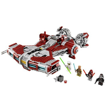 In Stock 05085 Movie Jedi Defender-Class Cruiser Jedi Style Model 957pcs Building Block Toys Compatible Lepinblock Star Wars