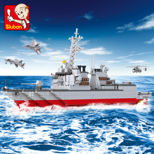 615Pcs Military Army Navy Destroyer Warship Model Building Blocks Sets Weapon Ship DIY Bricks Educational Toys For Children цена 2017