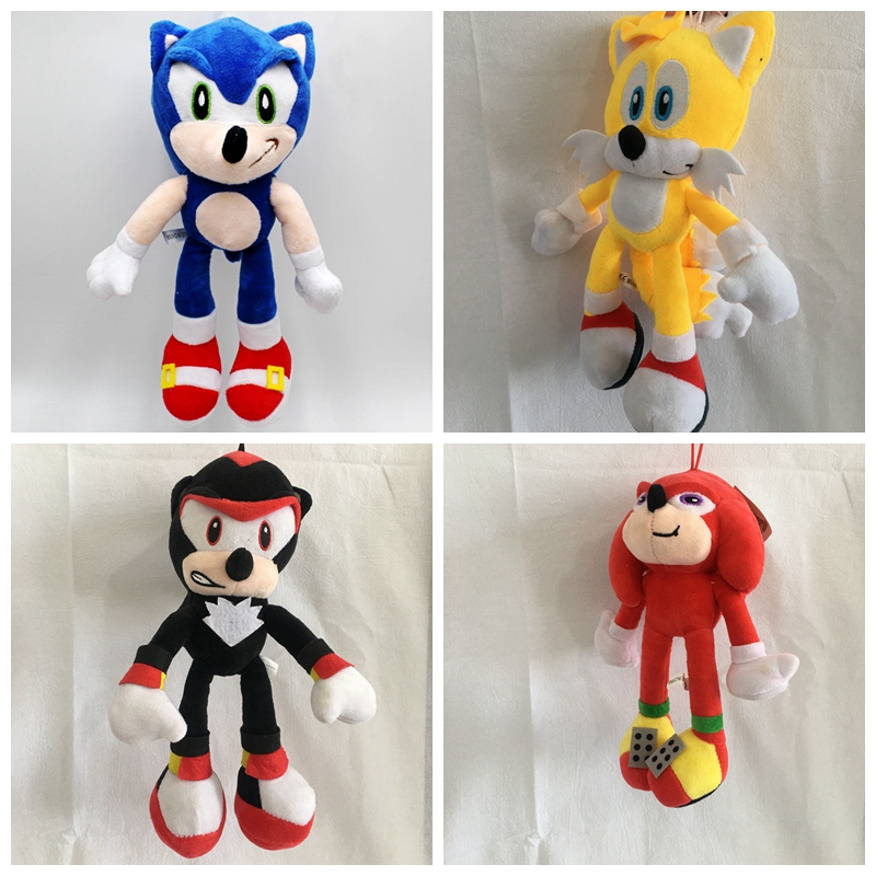 28cm-30cm  The Sonic Hedgehog Stuffed Animals Plush Toy