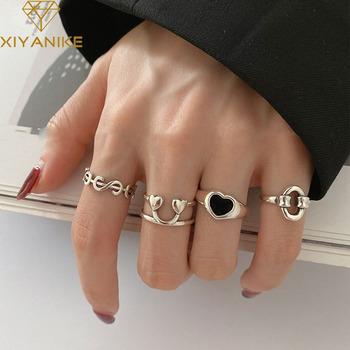 XIYANIKE 925 Sterling Silver Korea w kształcie serca miłość brzoskwiniowy dolar Smiley pierścień kobiet gorący palec wskazujący pierścionek z ogonkiem Trend w modzie tanie i dobre opinie 925 sterling CN (pochodzenie) Kobiety NONE Zewnętrzna ocena Drobne Brak Pierścionki VRS2714 VRS2731 VRS2732 VRS2733 Serce