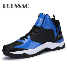 BOUSSAC Newest Professional Men Basketball Shoes Male Sport Anti-slip Athletics Sneakers Outdoor Traning