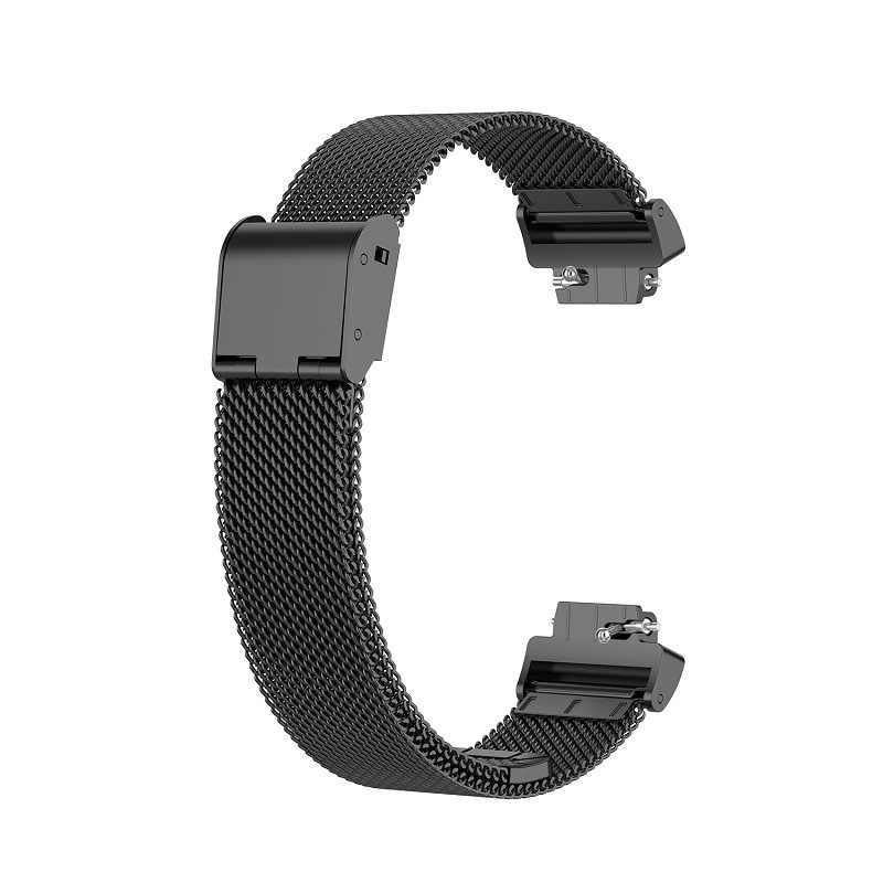 Per Fitbit Inspire HR/ace2 Fascia di Sport di Ricambio Milanese Loop Cinturino In Acciaio Inossidabile Del Braccialetto Betl per Fitbit Inspire