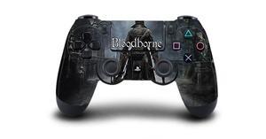Image 3 - Bloodborne защитный Стикеры Крышка для PS4 контроллера DualShock 4 Playstation 4 Pro Slim наклейка PS4 кожи Стикеры винил