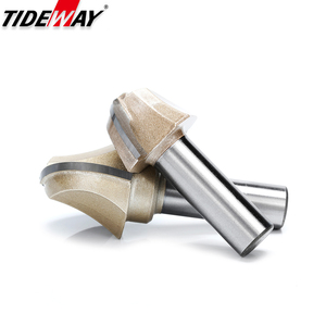Image 4 - Tideway Woodworking Round Cove Bit Tungsten Carbide Professional Grade Router Bits for Wood 1/2 1/4 Inch Shank Milling Cutter