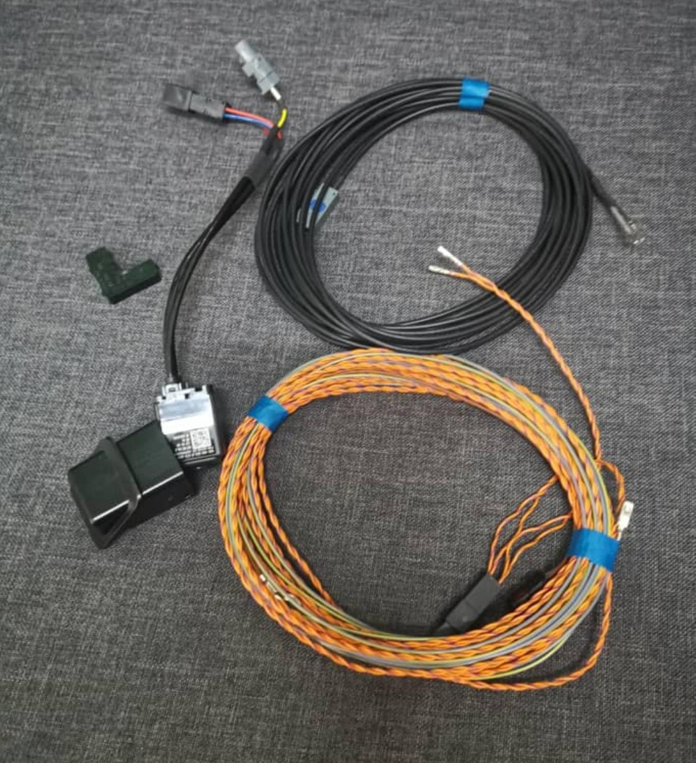 Rear View Camera Trunk Handle With High Guidance Line Wiring Harness 5Q0980556B 5Q0 980 556 B