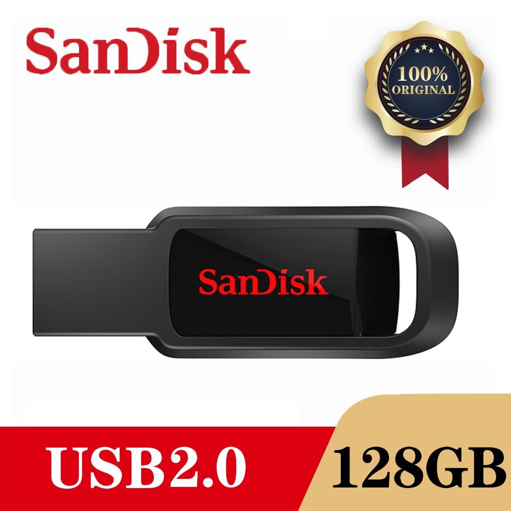 SanDisk CZ61 USB Flash Drive 128GB/64GB/32GB/16GB Pen Drive Pendrive USB 2.0 Flash Drive Memory stick USB disk usb flash(China)