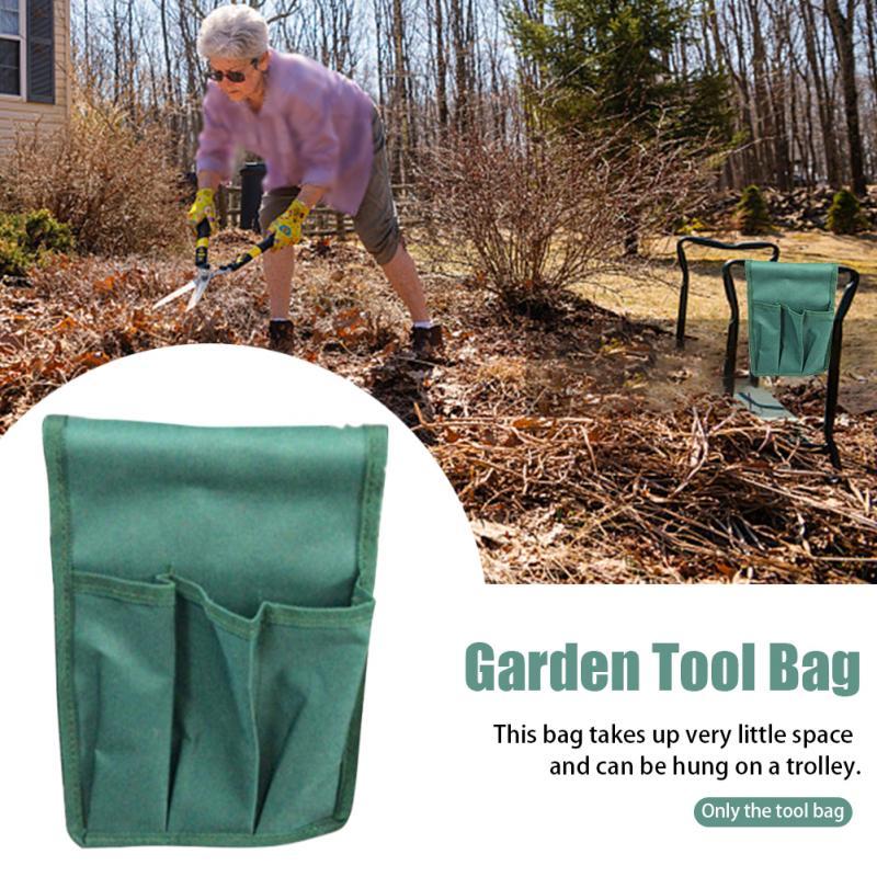 Foldable Portable Garden Tool Bag Kneeler Heavy Duty EVA Foam Pad Sturdy Multifunctional  Gardening Soft Tool Pouch