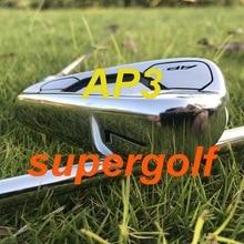 مكاوي لعبة غولف من أكيا AP3 718 مجموعة مكاوي مزورة (3 4 5 6 7 8 9 P) مع نوادي جولف ذات عمود فولاذي S300 باللون الذهبي الديناميكي