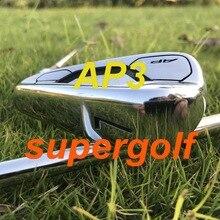 Gorące żelazka do golfa AKIA AP3 718 żelazka kute (3 4 5 6 7 8 9 P) z dynamicznym złotem S300 wał stalowy kluby golfowe