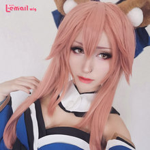 L-email wig New Arrival FGO Game Character Cosplay Wigs 60cm Long Heat Resistant Synthetic Hair Perucas Cosplay Wig l email wig new fgo game character cosplay wigs 10 color heat resistant synthetic hair perucas men women cosplay wig