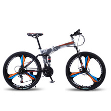 Mountain-Bike Bicycle Double-Disc-Brake 21-Speeds-Suspension Wheel-Size 26-Inches