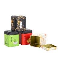 Caixa de empacotamento personalizada do biscoito do metal da forma especial do oem da caixa de empacotamento de xin jia yi