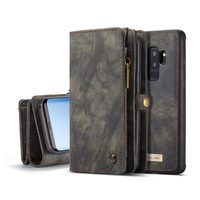 Abstract Magnetic Flip Wallet Case for Samsung A50 A70 A40 Case Fashion Zipper Cover for Samsung Galaxy S7 S8 S9 S10 Plus Case