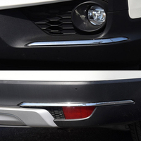 For Honda Pilot 2019 2020 Exterior Front & Rear Side Corner Guard Protector Strips Cover Trim Car Styling