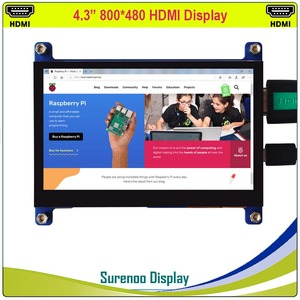 """Image 2 - 4.3 """"4.3 Inch 800*480 Tft Hdmi Usb Capacitieve Touch Panel Lcd Module Display Monitor Scherm Voor Raspberry pi"""