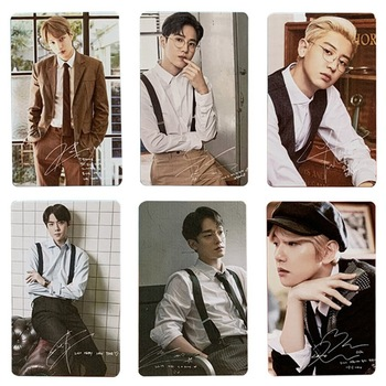 6PCS/Set KPOP EXO BAEKHYUN Solo Paper LOMO Card Photo New Album HD Photocard Fans Collective - discount item  20% OFF Printing Products