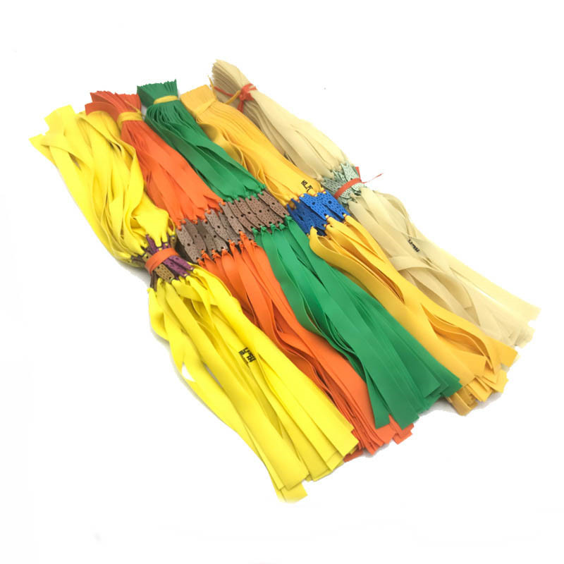 10Pcs Slingshot Powerful Elastic Flat Rubber Band Practical Hunting Sports Catapult Kit Set Slingshot Rubber Random Color