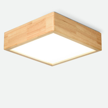 Japanese Solid Wood Ceiling Lamp Nordic Simple Kitchen Ceiling Lights for Home Living Room Bedroom Study Led Lights    WJ123120