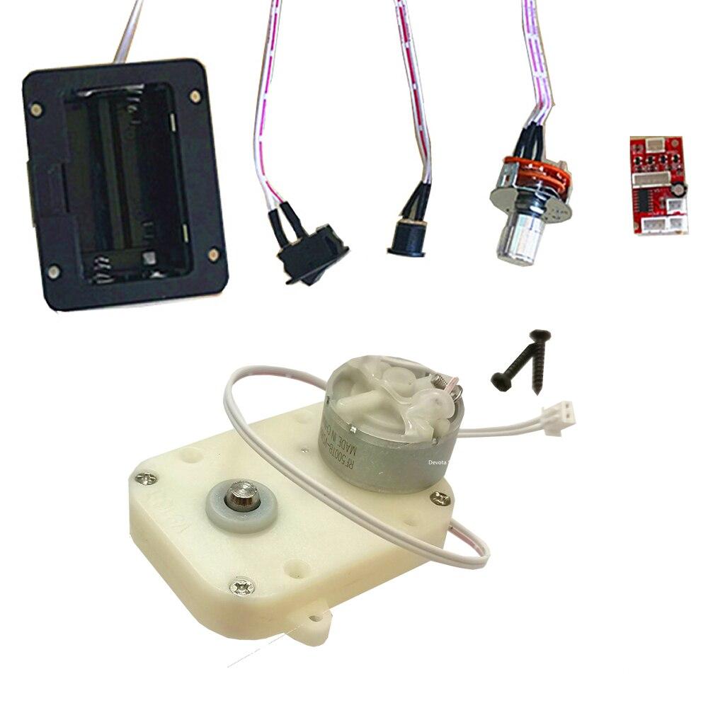Одиночные часы роторный двигатель запчасти для обслуживания часы шейкер Автоматическая Механическая цепь коробка с подзаводом