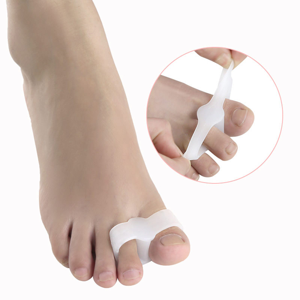 Double Ring Reinforced Type Hallux Valgus Toe Big Foot Bones Thumb Overlap Toe Separator Foot Care Tool Personal Care Tool
