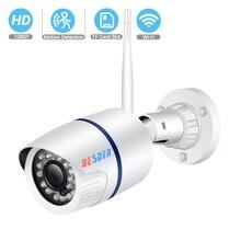 BESDER 1080P 960P 720P WIFI IP 카메라 야외 무선 감시 보안 카메라 Onvif P2P CCTV 카메라 TF 카드 슬롯 CamHi App