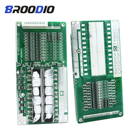 BMS 14S 48V 45A lto 18650 Li ion Lithium Battery Pack Protection Board With balancer Balance BMS PCB Equalizer Circuits Common|Battery Accessories| |  -